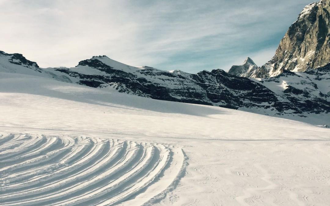 Deserted snow
