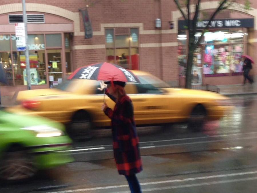 Amsterdam umbrella in New York