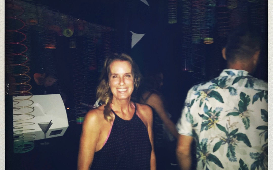 Ibiza style party ..