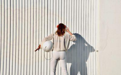 Project the sound of styrofoam